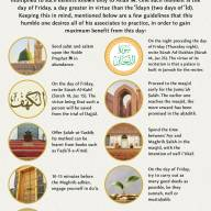 Guideline for the Day of Jumu'ah